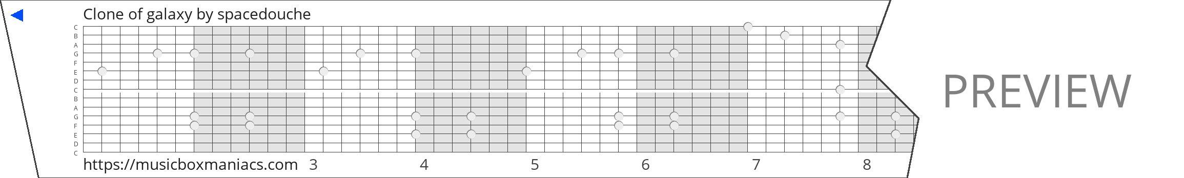Clone of galaxy 15 note music box paper strip